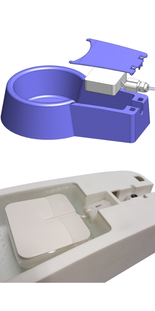 Stoke Ventures Product Development Design and Engineering Service Design to Prototype Auto-Filling Water Bowl for Pets